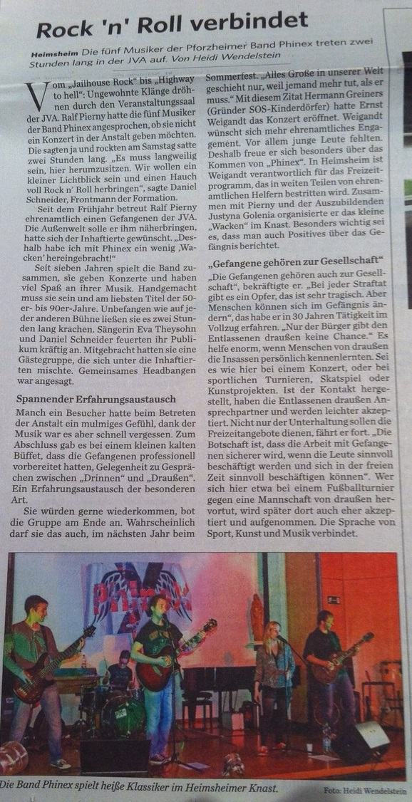 Leonberger Kreiszeitung - Rock'n'Roll verbindet